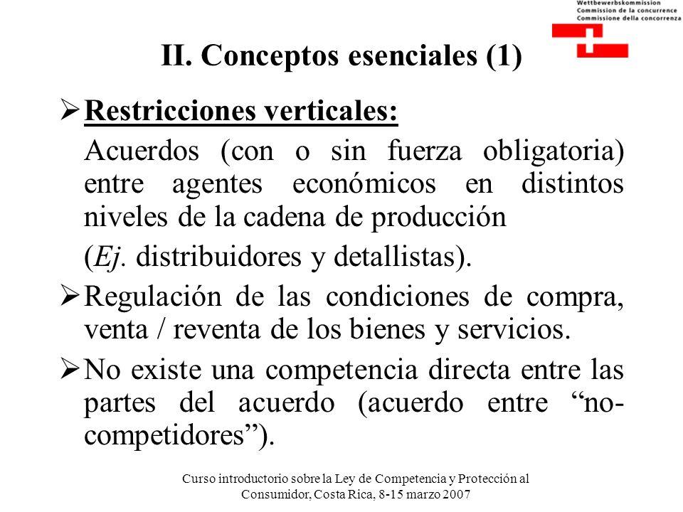 II. Conceptos esenciales (1)