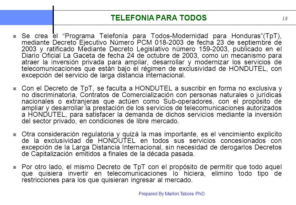 TELEFONIA PARA TODOS