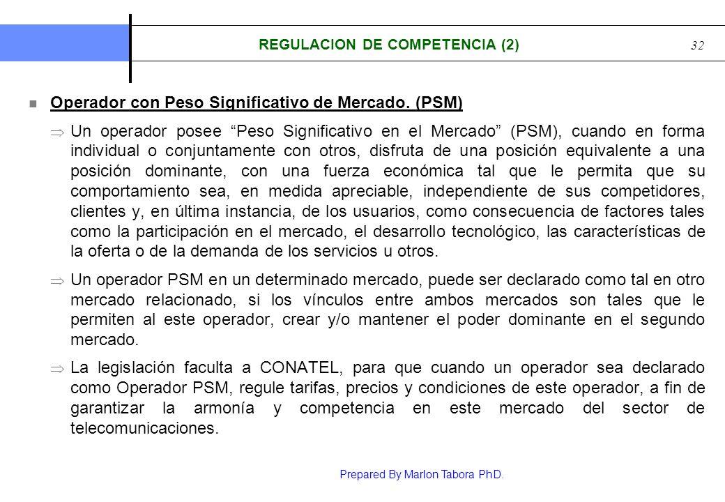 REGULACION DE COMPETENCIA (2)