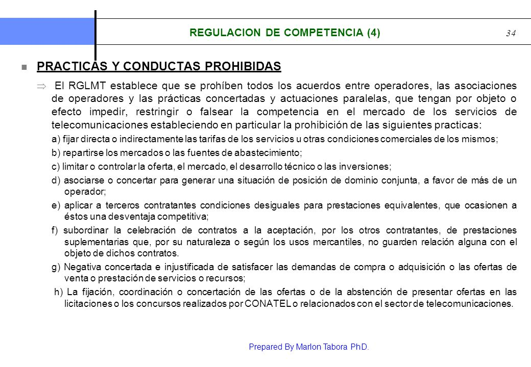 REGULACION DE COMPETENCIA (4)