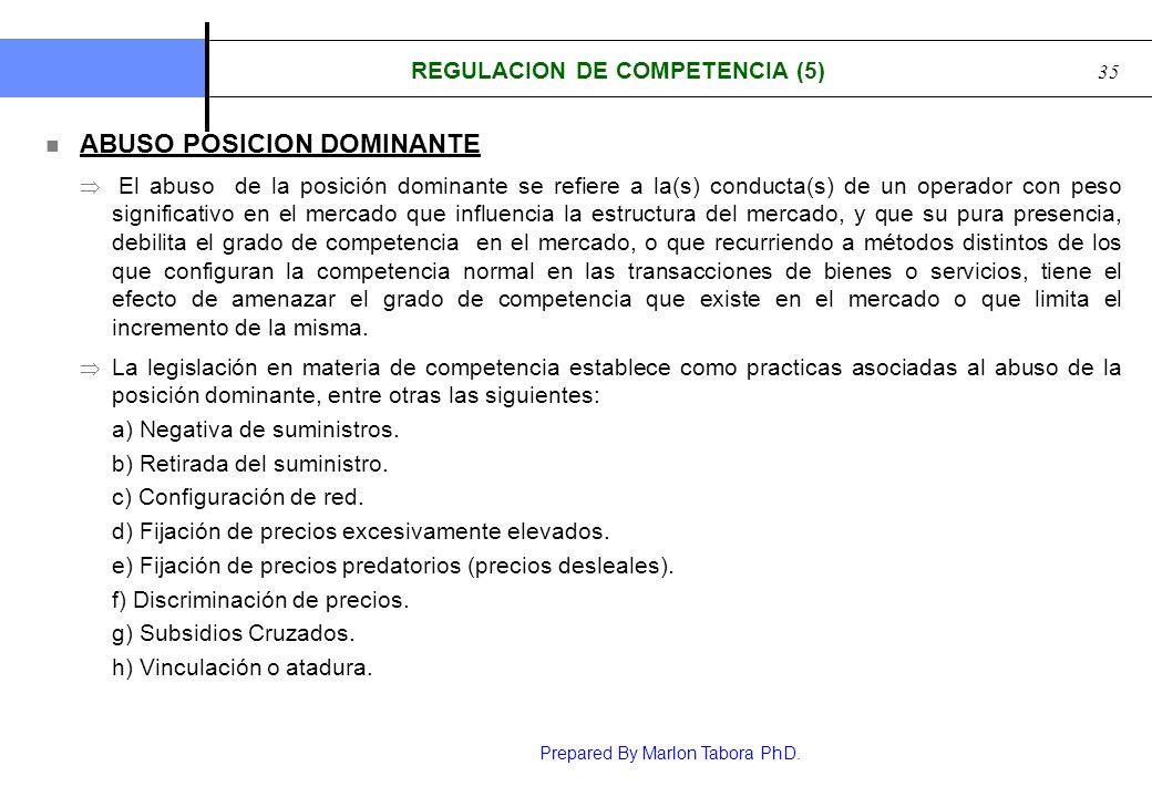 REGULACION DE COMPETENCIA (5)