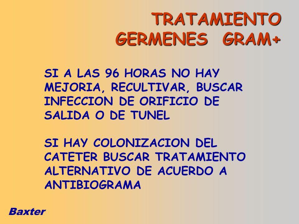 TRATAMIENTO GERMENES GRAM+