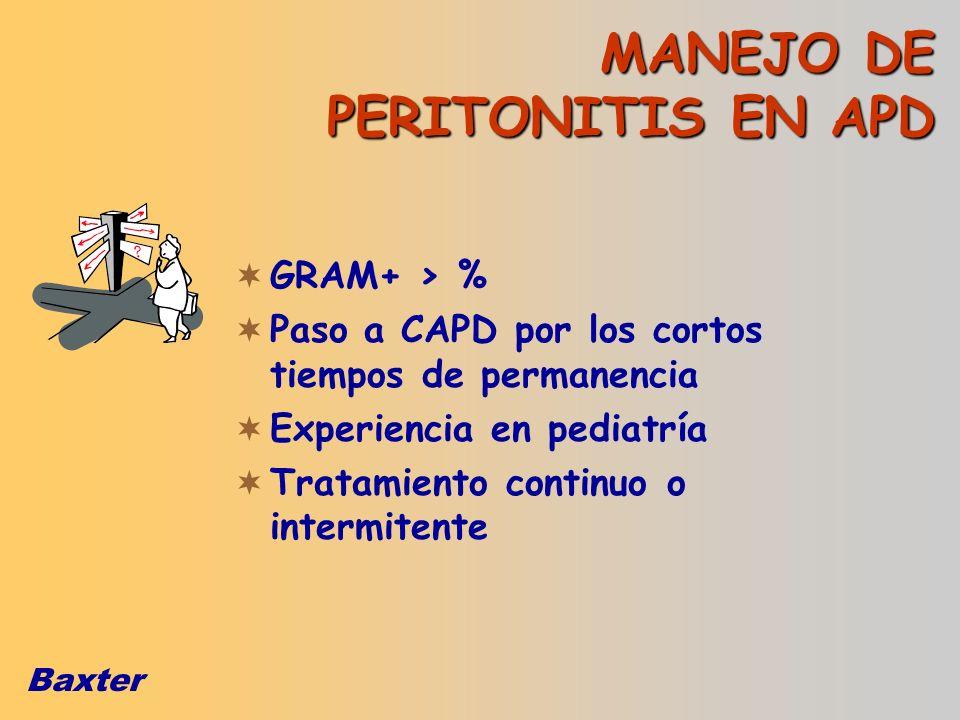 MANEJO DE PERITONITIS EN APD