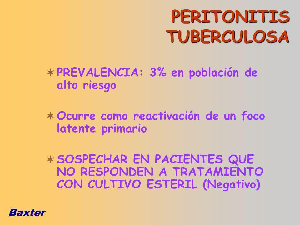 PERITONITIS TUBERCULOSA