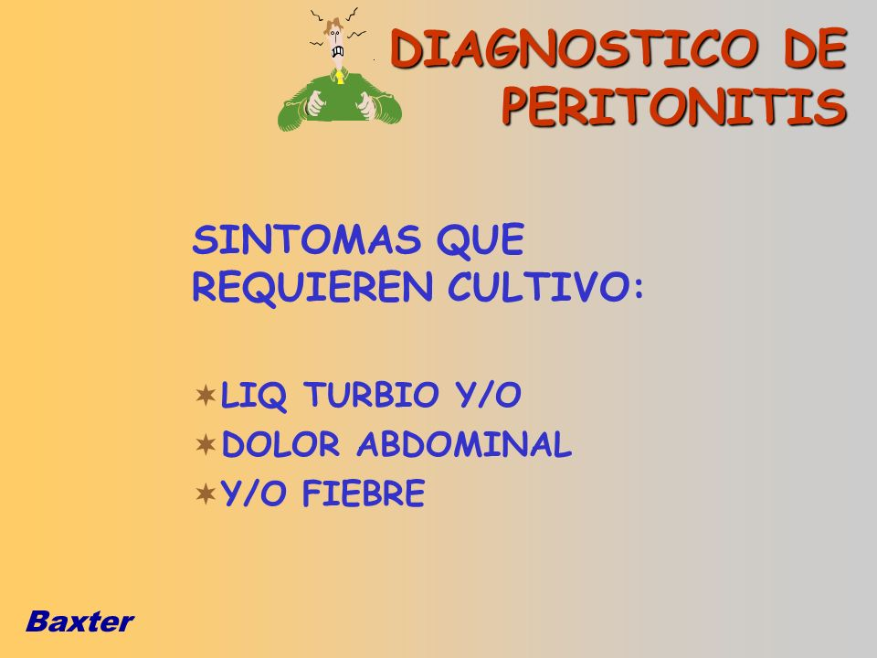 DIAGNOSTICO DE PERITONITIS