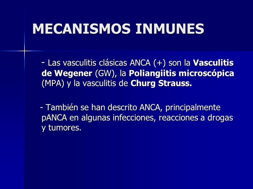 MECANISMOS INMUNES