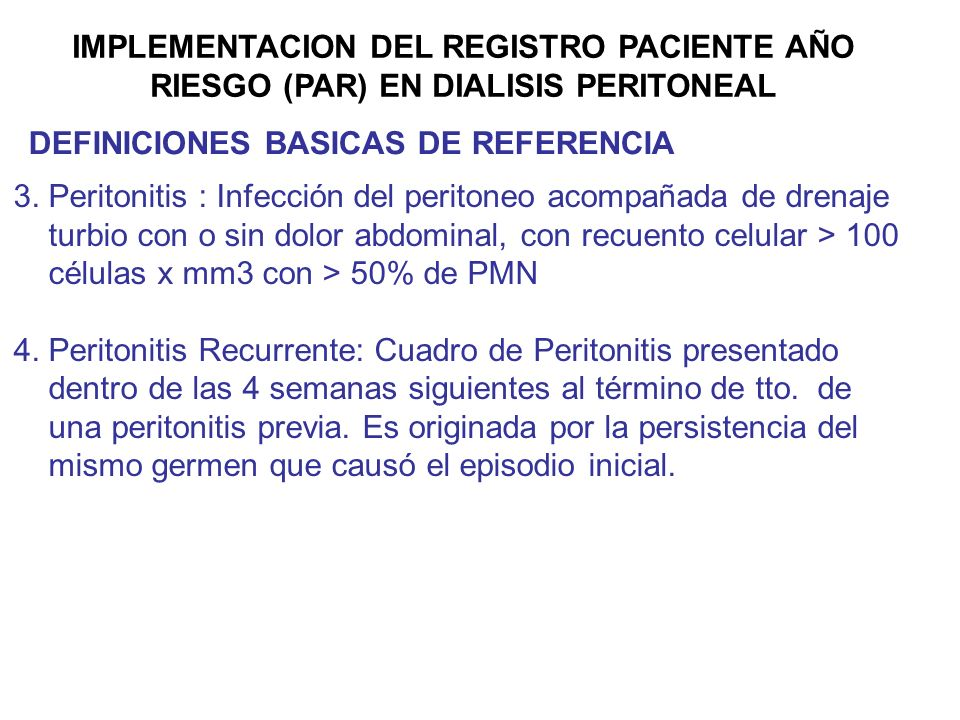 IMPLEMENTACION DEL REGISTRO PACIENTE AÑO