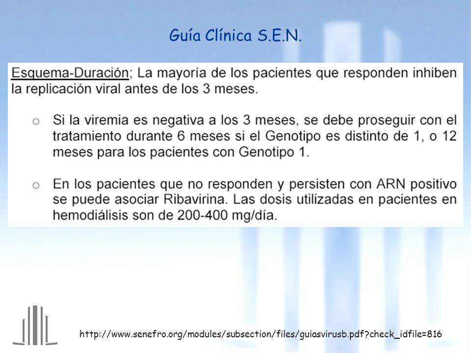 Guía Clínica S.E.N.