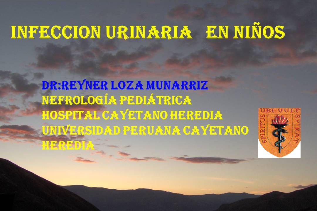 INFECCION URINARIA EN NIÑOS INFECCION URINARIA EN NIÑOS