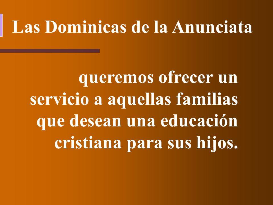 Las Dominicas de la Anunciata