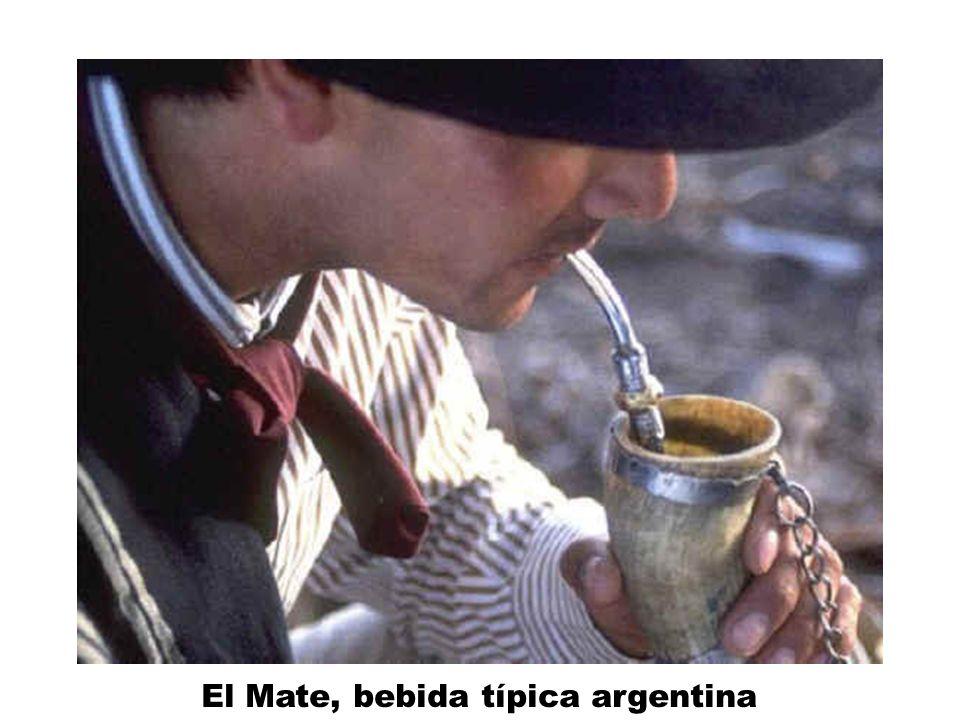 El Mate, bebida típica argentina