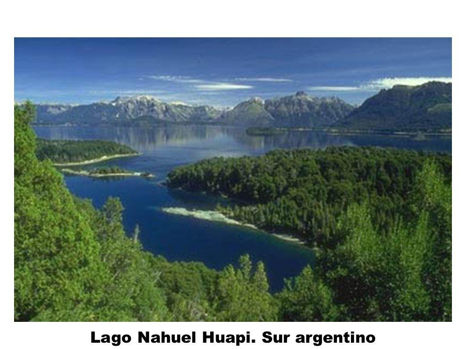 Lago Nahuel Huapi. Sur argentino