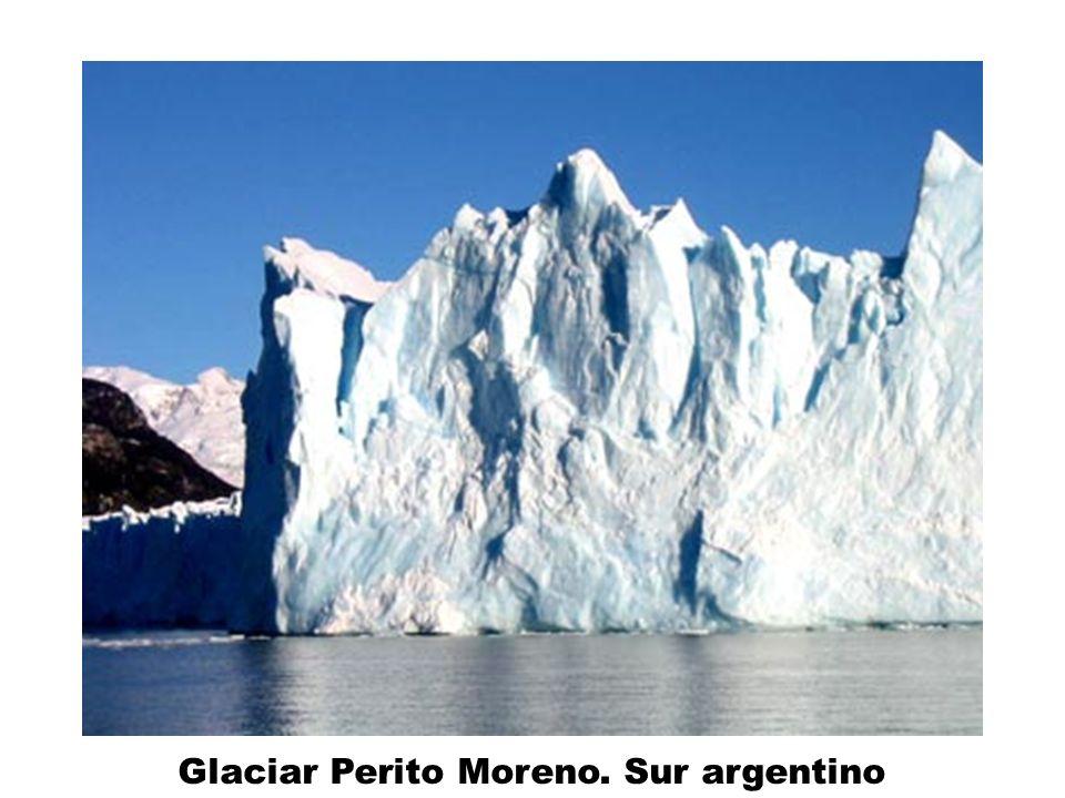 Glaciar Perito Moreno. Sur argentino