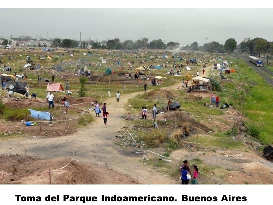 Toma del Parque Indoamericano. Buenos Aires