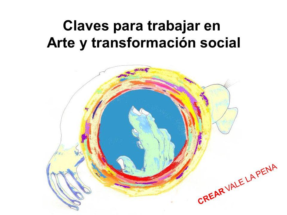 Claves para trabajar en Arte y transformación social