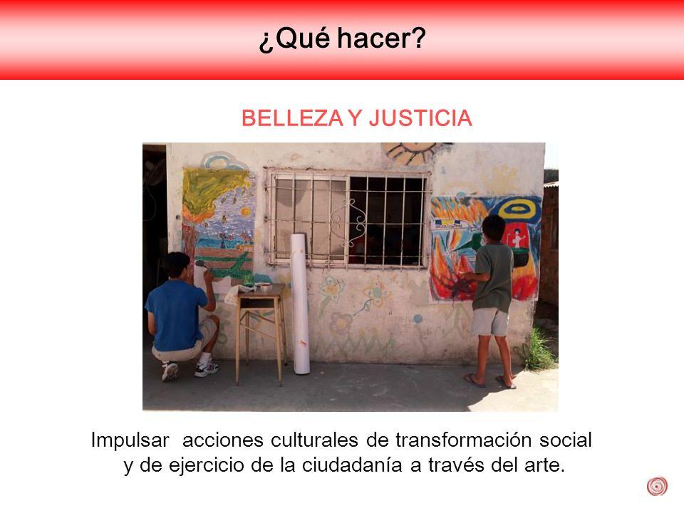 ¿Qué hacer BELLEZA Y JUSTICIA