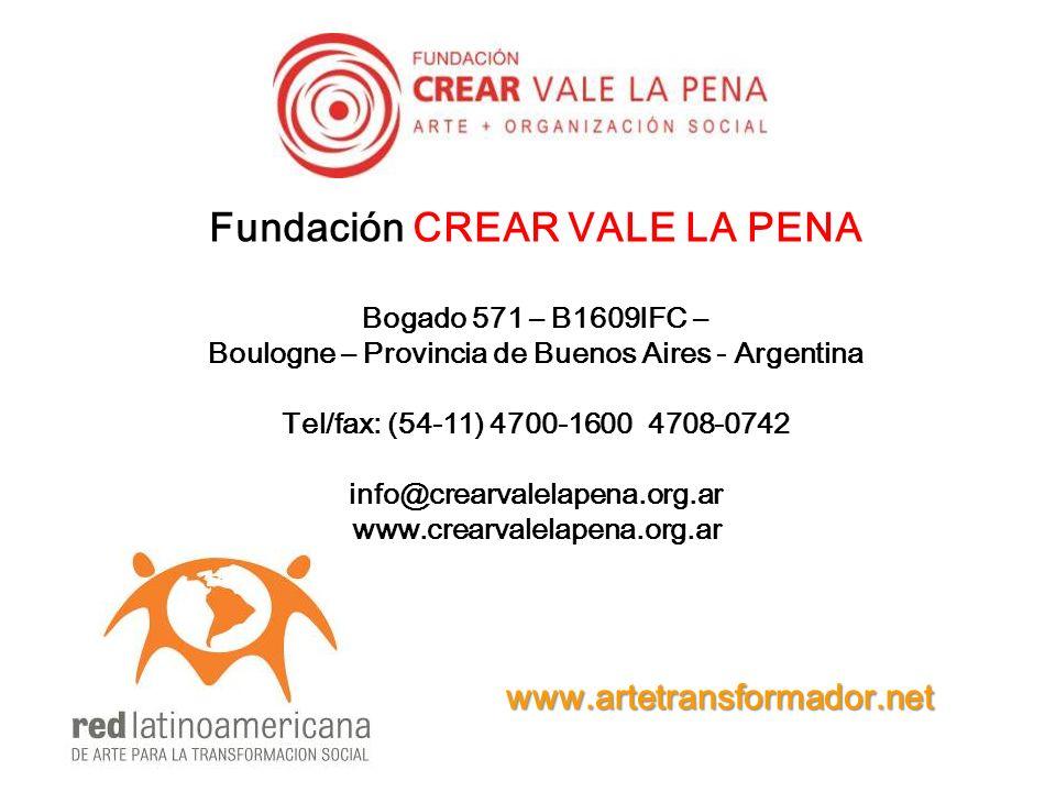 Fundación CREAR VALE LA PENA