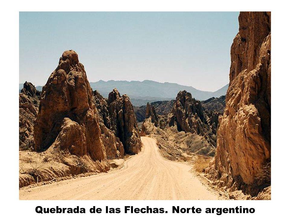 Quebrada de las Flechas. Norte argentino