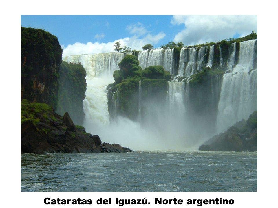 Cataratas del Iguazú. Norte argentino