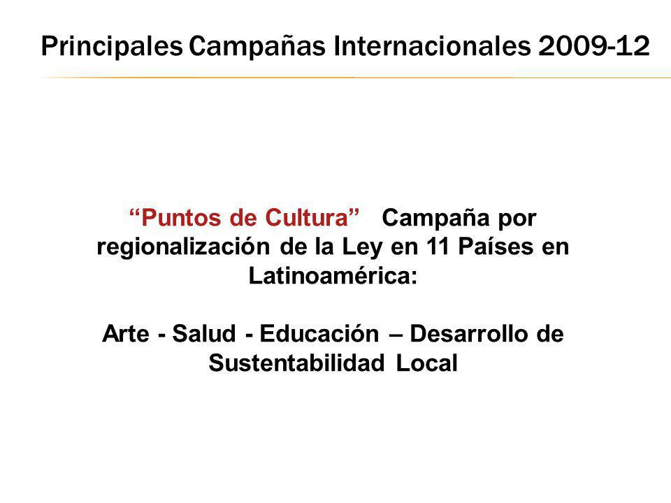 Arte - Salud - Educación – Desarrollo de Sustentabilidad Local