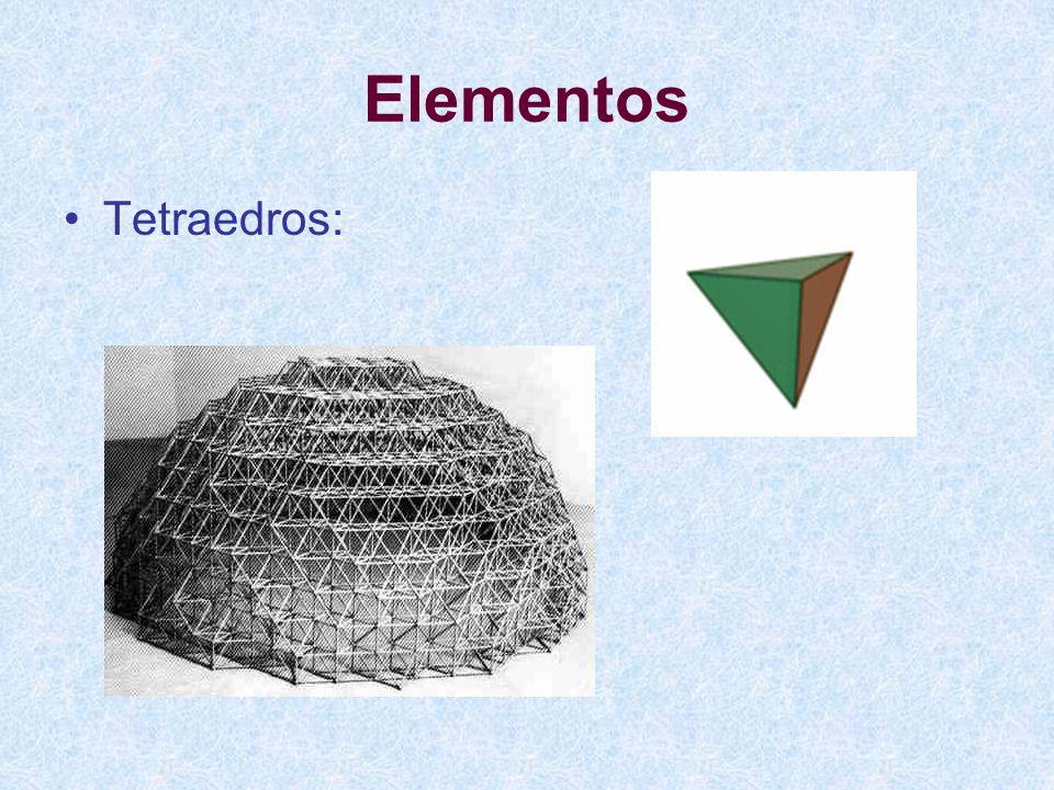 Elementos Tetraedros:
