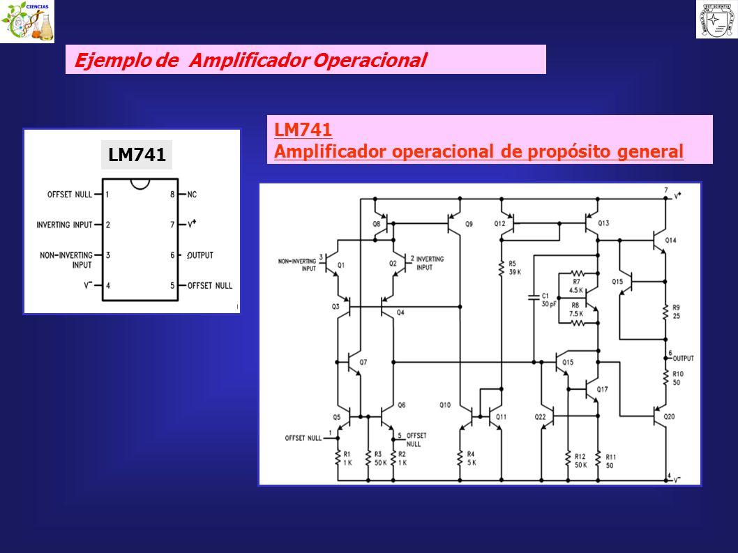 Ejemplo de Amplificador Operacional
