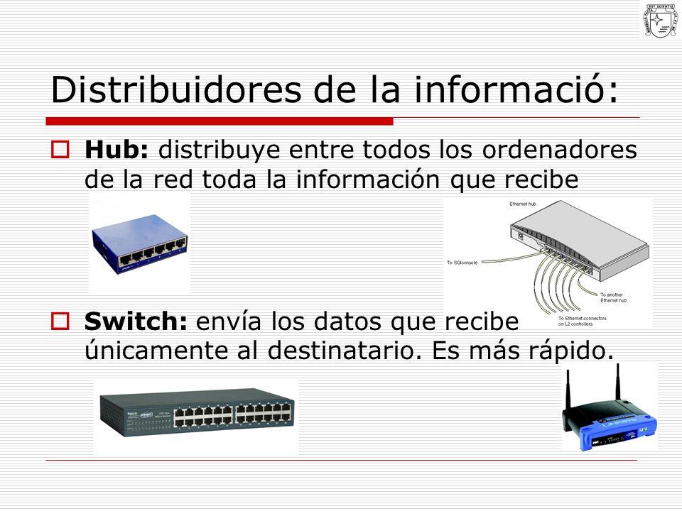 Distribuidores de la informació: