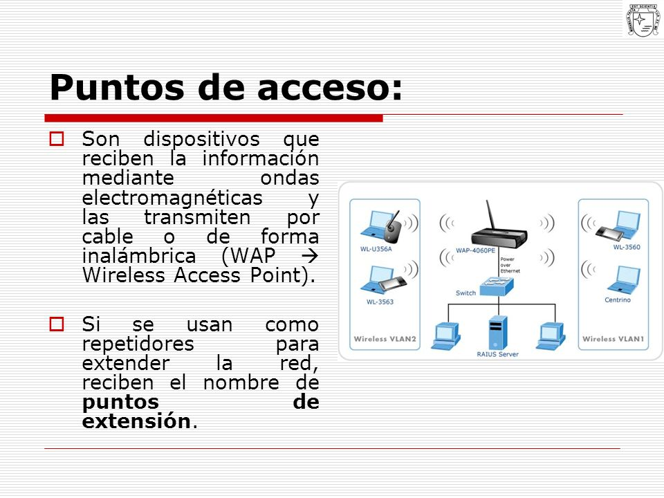 Puntos de acceso: