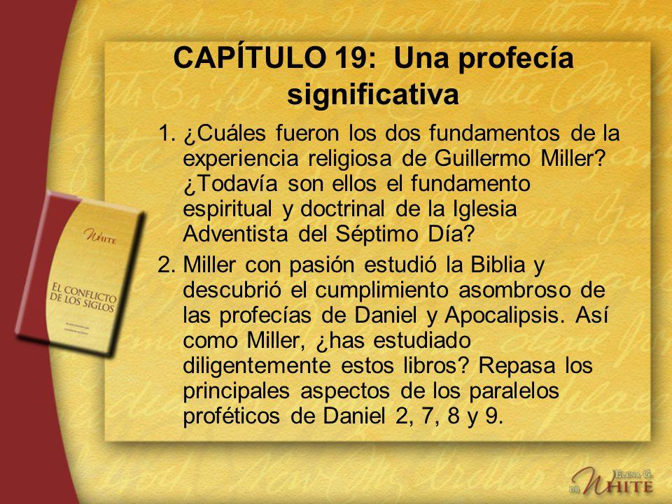 CAPÍTULO 19: Una profecía significativa