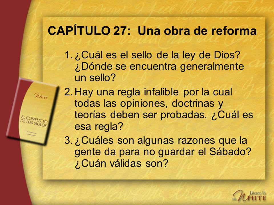 CAPÍTULO 27: Una obra de reforma