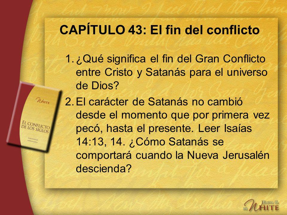 CAPÍTULO 43: El fin del conflicto