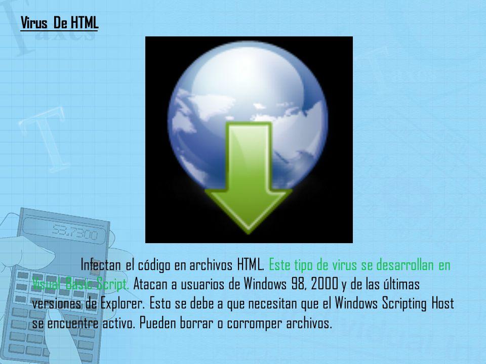 Virus De HTML