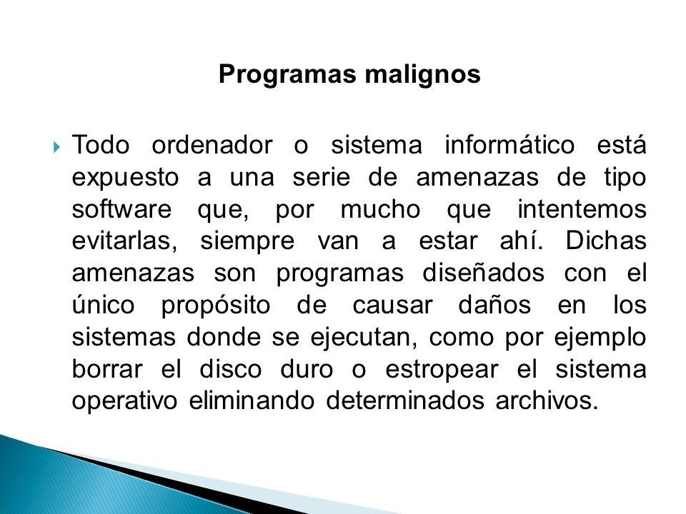 Programas malignos