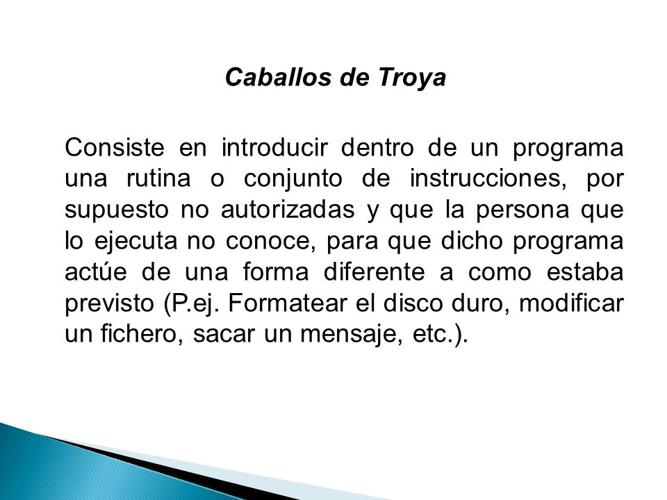 Caballos de Troya
