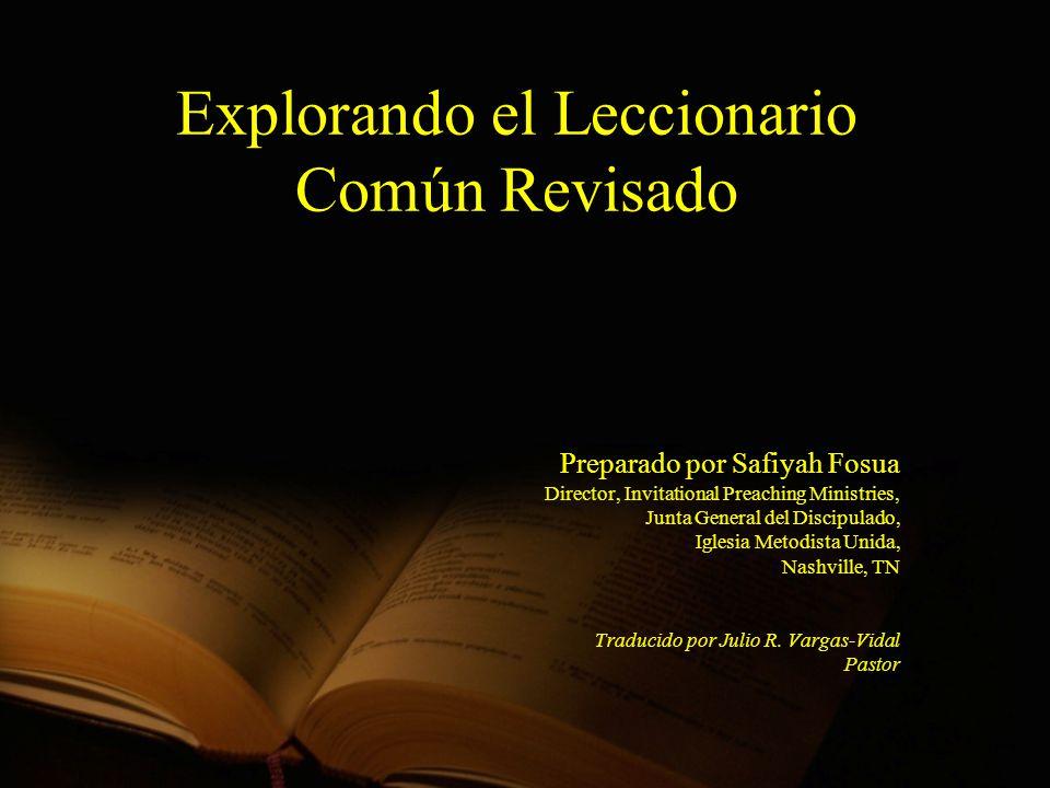 Explorando el Leccionario Común Revisado