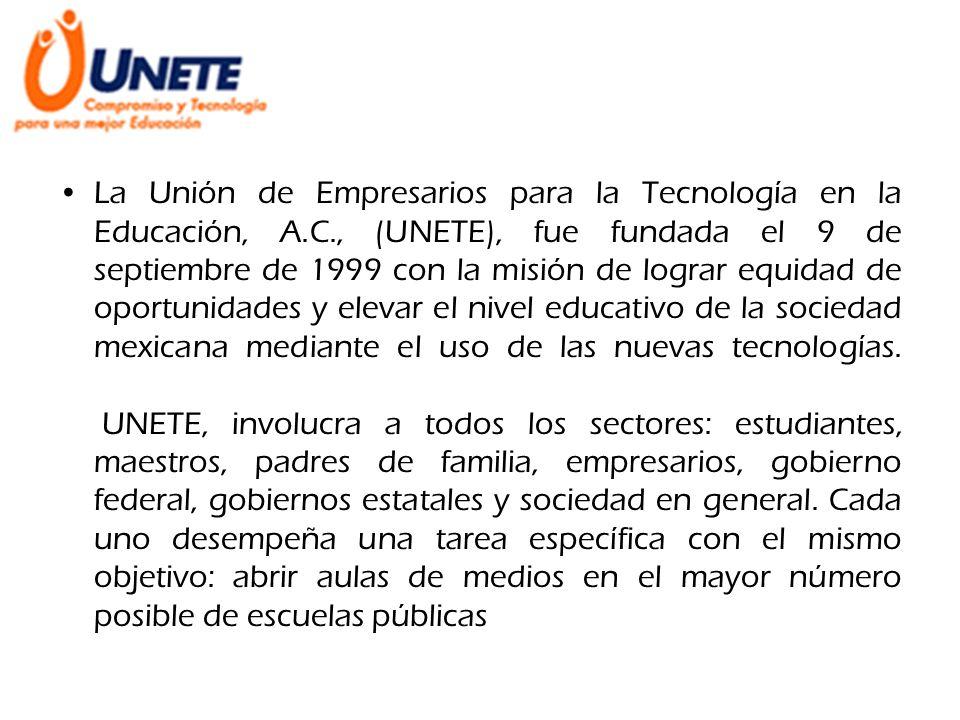 La Unión de Empresarios para la Tecnología en la Educación, A. C