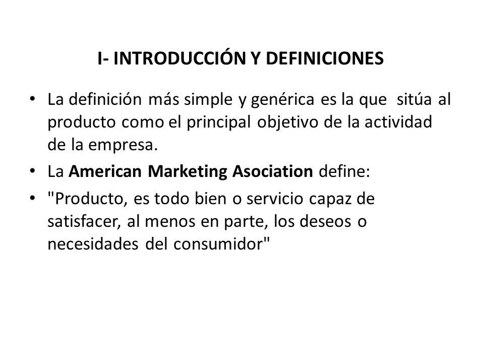 I- INTRODUCCIÓN Y DEFINICIONES