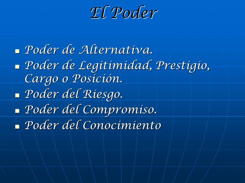 El Poder Poder de Alternativa.