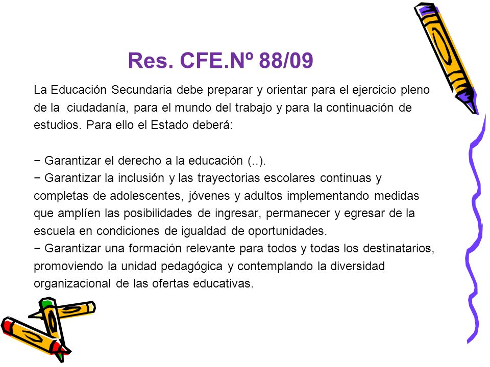 Res. CFE.Nº 88/09