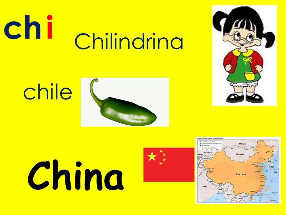 ch i Chilindrina chile China