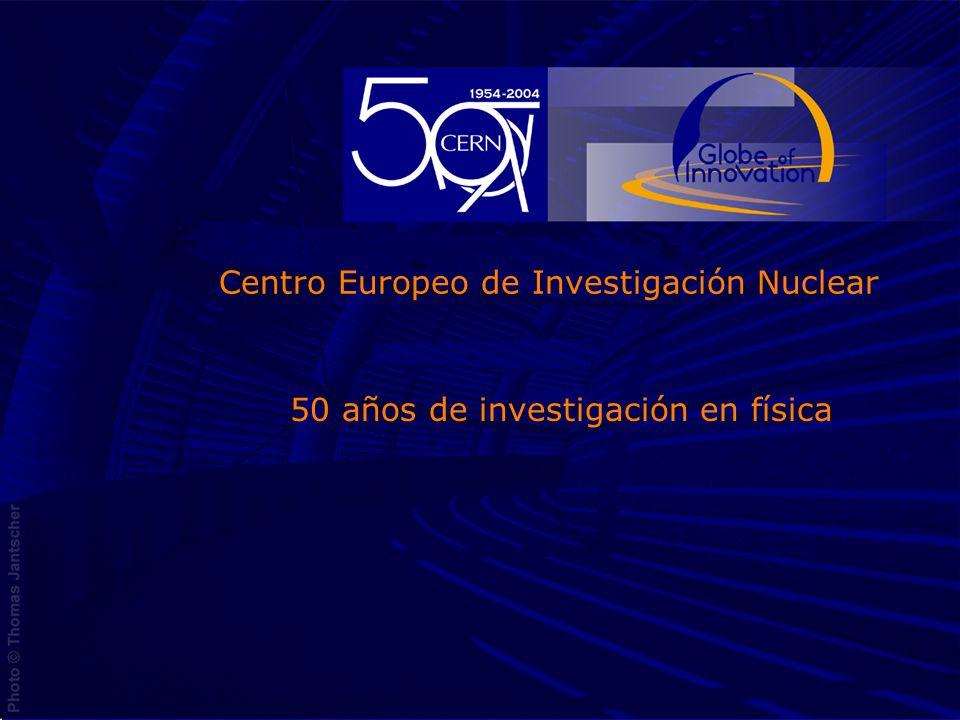 Centro Europeo de Investigación Nuclear