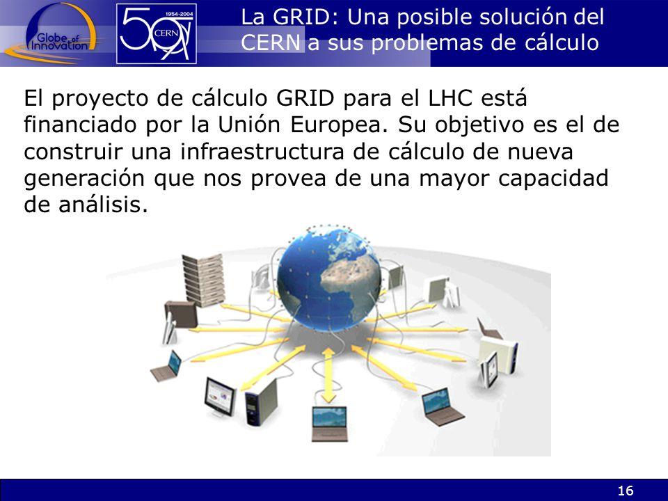 La GRID: Una posible solución del CERN a sus problemas de cálculo