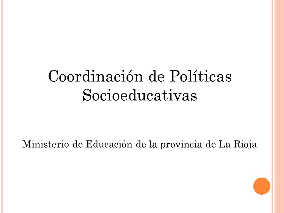 Coordinación de Políticas Socioeducativas