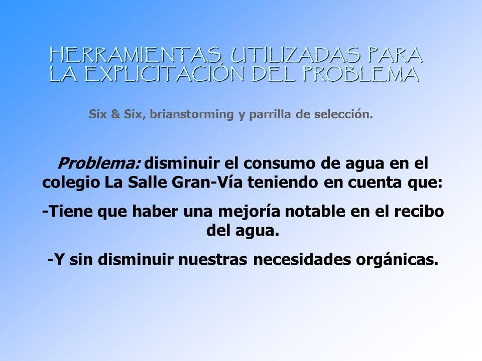 HERRAMIENTAS UTILIZADAS PARA LA EXPLICITACIÓN DEL PROBLEMA