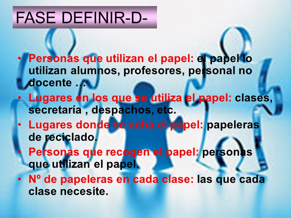 FASE DEFINIR-D- FASE DEFINIR-D-