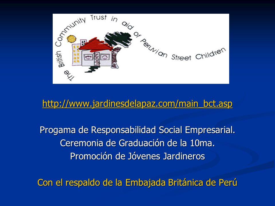 Progama de Responsabilidad Social Empresarial.