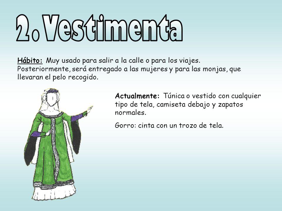 2. Vestimenta