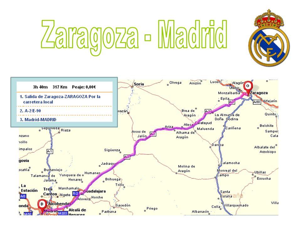 Zaragoza - Madrid