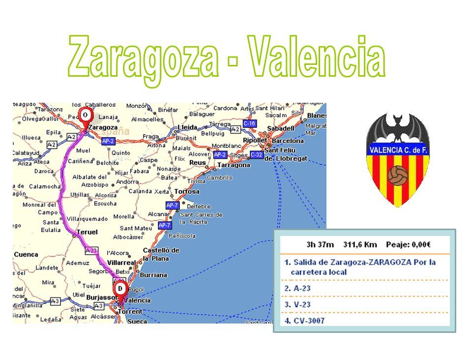 Zaragoza - Valencia