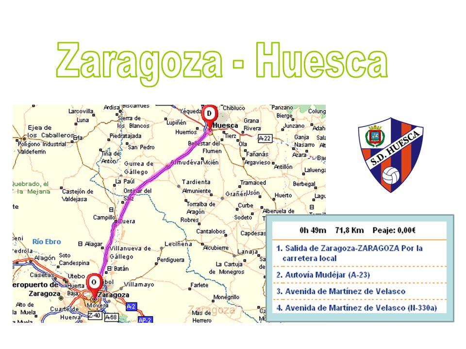 Zaragoza - Huesca